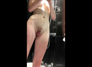 Nude shower girls